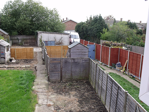 REPAIR SOME AND ADD NEW FENCING